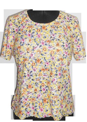 Frühjahr und Sommer Kollektion T-Shirt für Damen - mobiler Bekleidung für Senioren